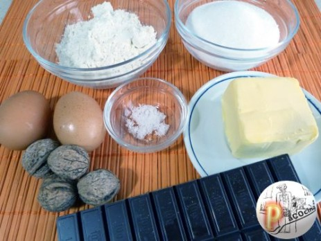 Ingredientes para brownie