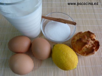 Pan de Calatrava ingredientes