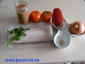 Bacalao en salsa de marisco ingredientes