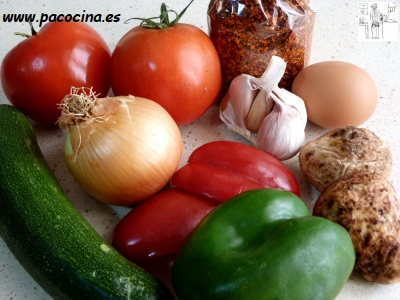 Criadillas de tierra ingredientes